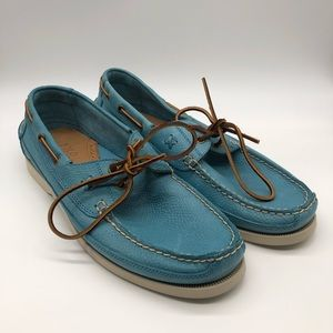 Polo Ralph Lauren Barnard Leather Blue, 12 D